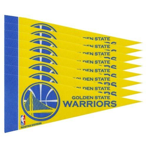 Golden State Warriors Mini Pennants - 8 Piece Set