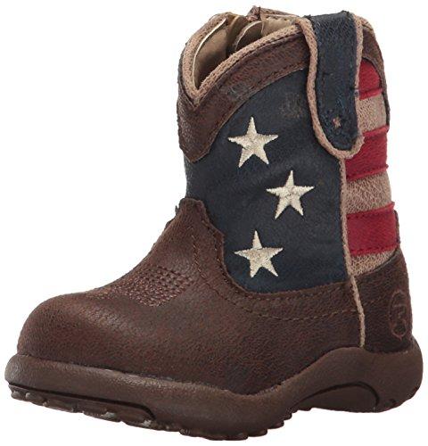 ROPER Baby American Patriot, Brown, 1 M US Infant