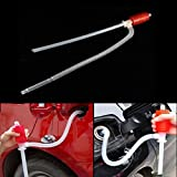 Car Manual Siphon Pump Portable Gas Oil Water Liquid Transfer Sucker
