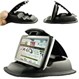 "ChargerCity Hippo Series Universal Portable Dashboard NonSlip Beanbag Friction Mount for Garmin Nuvi 30 40 42 44 50 52 54 55 56 57 58 65 67 68 3597 3457 2458 2497 2497 2557 2558 2559 2577 2597 2598 2639 2689 2699 LMT GPS (Fit all 3.5"" 4.3"" 5"" 6"" GPS) *Includes Chargercity Direct Replacement Warranty* by ChargerCity"