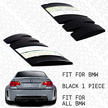M BLACK Emblem Badge Stickers Decals with Strong 3M Includes instructions MEASURE Before Purchase Fitment Top Quality fit For BIMMER 3 series 5 6 4 2 X5 X3 X6 X2 etc BLACK BLUE AMD pack of 1