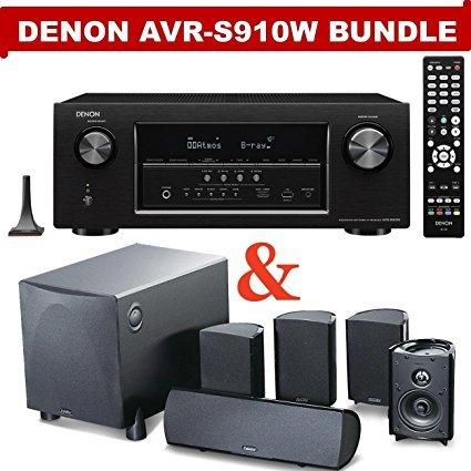 Denon AVR-S910W 7.2 Channel Full 4K Ultra HD A/V Receiver  N