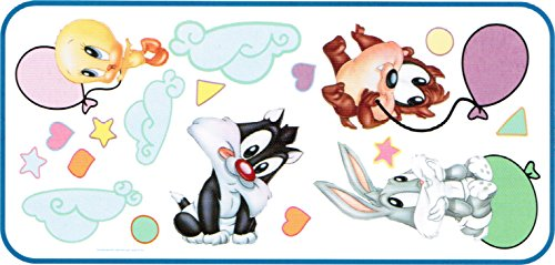 - Baby Looney Tunes Balloon Fun Jumbo Wall Sticker