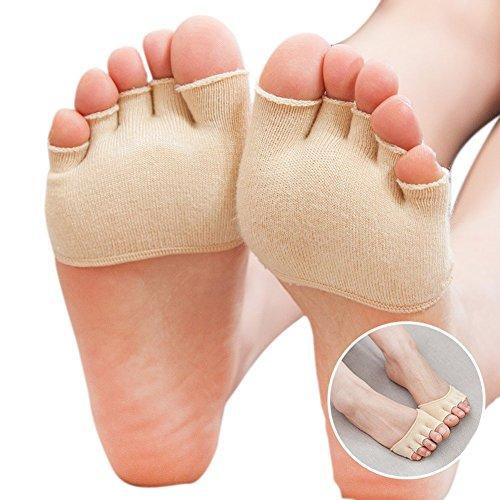 Roniky Womens Socks Heelless Pairs
