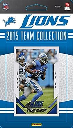 ee6693f4 Amazon.com: Detroit Lions 2015 Score Factory Sealed NFL Football ...