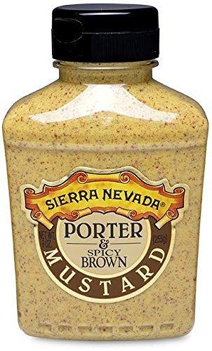 Sierra Nevada Porter & Spicy Brown Mustard, 9 oz Sqz (3 Pack)