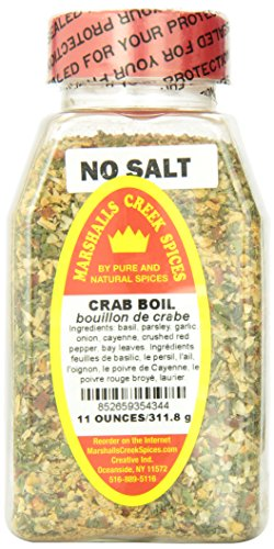 Marshalls Creek Spices Crab Boil, No Salt, 11 (Crab Spice)