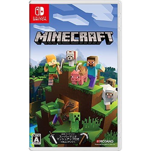 2位:Microsoft Minecraft Switch(画像はAmazon.co.jpから引用)