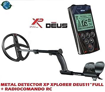 Metal Detector XP Xplorer Deus con placa 11 Lite + Radio control RC