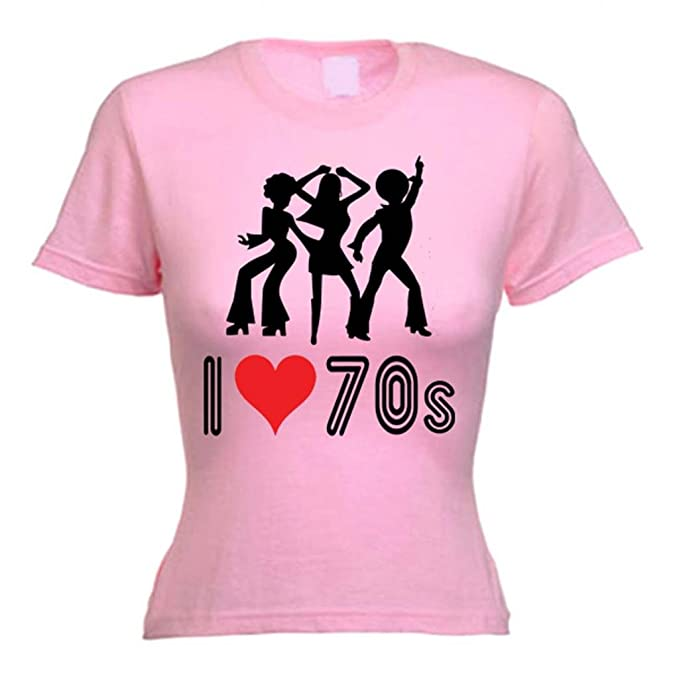 new items great variety styles purchase authentic Tribal T-Shirts Women's I Love The 70s T-Shirt