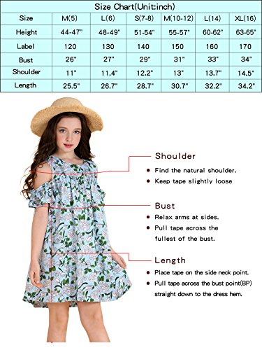 a0f8740ae Jual AuroraBaby Little Big Girls  Casual Dresses Size 7-16 Cotton ...