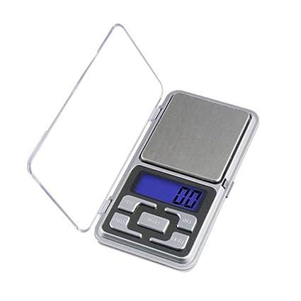 Em Home Mini Balanza Digital de Precision, 0.1g-500g Tamaño 12x6x2cm