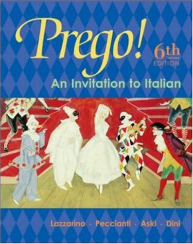 Prego! An Invitation to Italian Student Edition with Bind-In Card