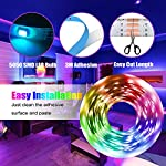 LED Strip Light, 16.4 ft Waterproof Music RGB 5050 Led Rope Lights Color Changing LED Light Strip Kit with Remote… 14