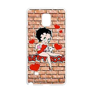Betty Boop Samsung Galaxy Note 4 Cell Phone Case White ULH