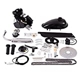 Black Bicycle Engine Motor Kit w/Spark Plug