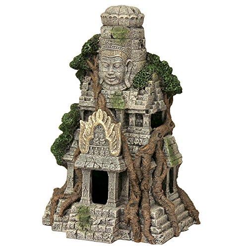 (Blue Ribbon EE-5657 Cambodian Temple Ruins Exotic Environments Aquarium Ornament,)