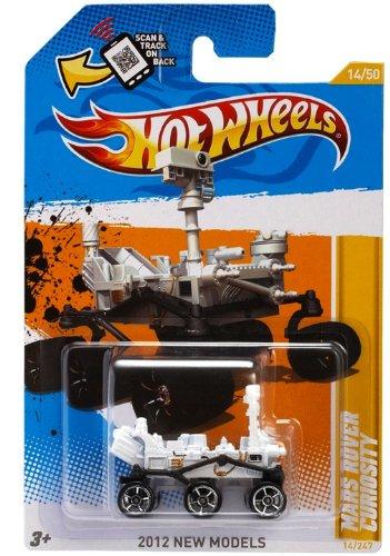2012 Hot Wheels New Models - Mars Rover Curiosity