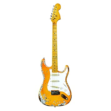 QINGZ Guitarra Eléctrica De 4 Cuerdas