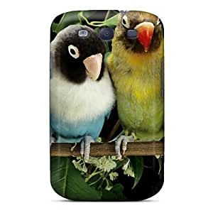 NikRun Premium Protective Hard Case For Galaxy S3- Nice Design - Lovebirds by icecream design
