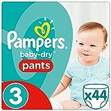 Pampers Baby Dry Pants Windeln, Größe 3, 44 Stück