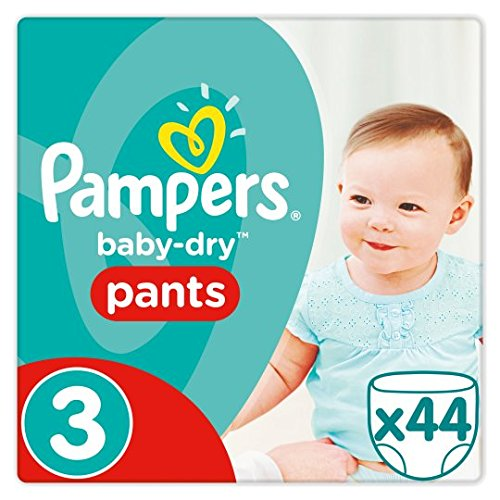 Pampers Baby Dry Pantalon taille 3Essential Lot de 44couches Brand Pampers