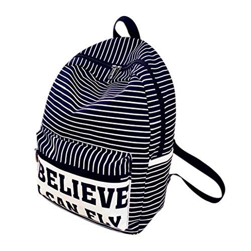 Clode® Moda Viajar lona de las mujeres de la taleguilla del hombro del bolso de escuela del morral