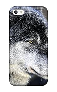Durable Defender Case For Iphone 5/5s Tpu Cover(wolf)