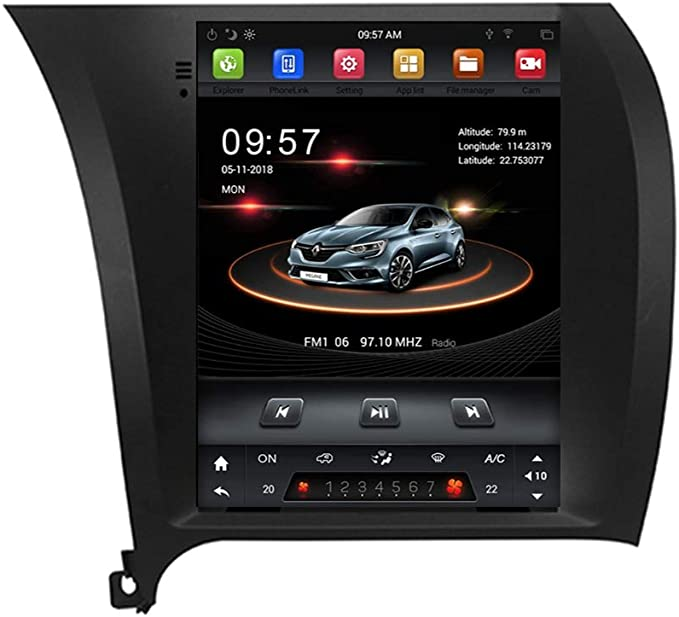 Android 9 1 2 32gb Car Stereo Dvd Gps Player For Navi Kia Cerato K3 Forte 2013 2018 Wifi Car Electronics Amazon Com