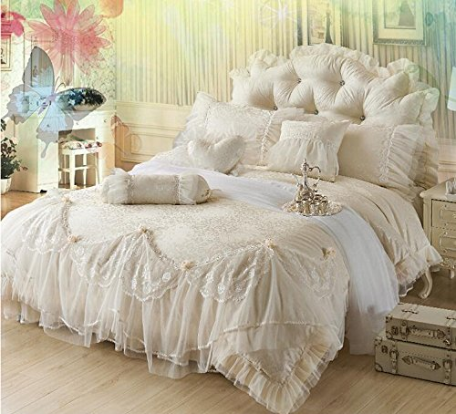 Sisbay Fabulous Royal Princess Beige Wedding Bedding