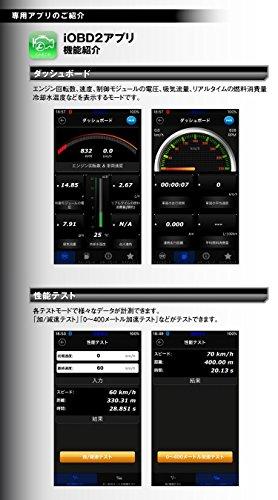MAXWIN(マックスウィン)iOBD2 日本語 車両診断ツール Bluetooth 4 0