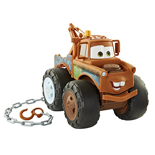 Disney Pixar Cars 3 Tow Mater Truck - Push and Pull Up To 200 Pounds! -