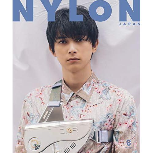 NYLON JAPAN 2019年8月号 表紙画像