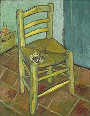 'Van Gogh's Chair And Pipe, 1888' Oil Painting, 30x39 Inch / 76x98 Cm ,printed On High Quality Polyster Canvas ,this High Definition Art Decorative Canvas Prints Is Perfectly Suitalbe For Dining Room Gallery Art And Home Artwork And Gifts