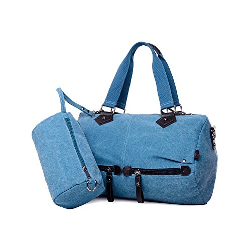 Shoulder Fashiontotes Ladies Bag Blue Womens Yvonnelee Handbags xvBpAnw
