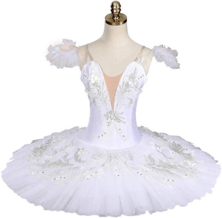 高度なカスタムバレエスカートプロフェッショナルチュチュスカート7層ハードネット大人子供ダンスパフォーマンス服弾性力,XS  X-Small