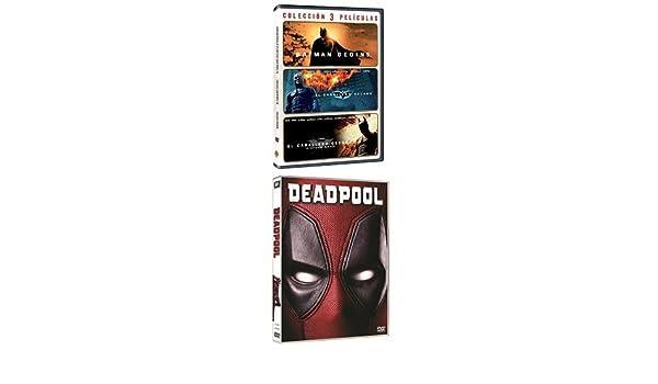 Pack Superhéroes: Deadpool + Pack Batman Nolan Batman Begins + El Caballero Oscuro + El Caballero Oscuro: La Leyenda Renace DVD: Amazon.es: Cine y Series TV