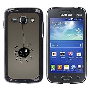YiPhone /// Prima de resorte delgada de la cubierta del caso de Shell Armor - Funny Bug - Samsung Galaxy Ace 3 GT-S7270 GT-S7275 GT-S7272