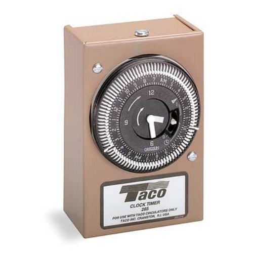 Taco 265-1 Analog Timer with Dust Cover by Taco