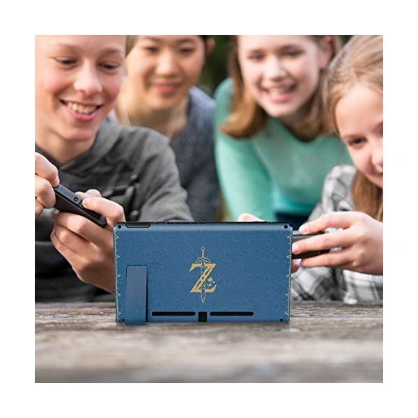 """Controller Gear Nintendo Switch Skin & Screen Protector Set, Officially Licensed By Nintendo - The Legend of Zelda Breath of the Wild """"The Legend of Zelda"""" - Nintendo Switch 9"""
