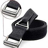 "FAIRWIN Men's Nylon Tactical Duty Belt - Security Tactical Combat Gear Utility Belt (Fit Waist 38""~ 40"")"