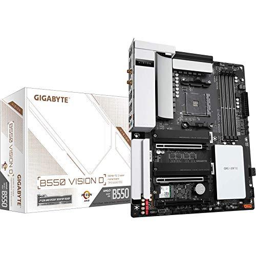 GIGABYTE B550 Vision D ATX Mainboard Sockel AM4 M.2/HDMI/DP/USB3.2/WiFi/BT