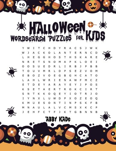 Halloween Word Search Puzzles For Kids: Word Search Activity Books For Kids (Word Search Game) (Volume -