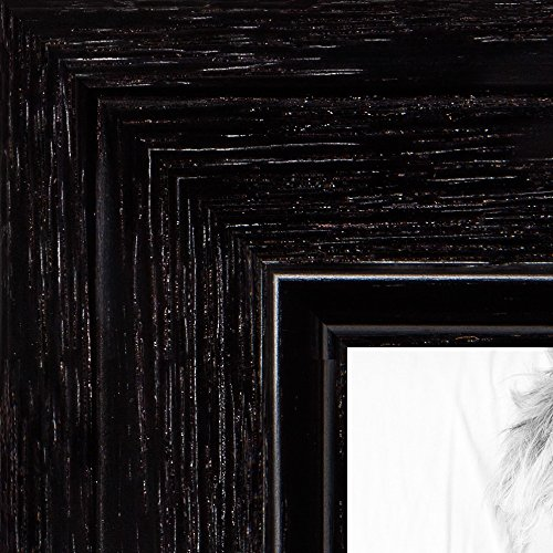 - ArtToFrames 10x15 inch Black Stain on Maple Wood Picture Frame, 2WOM0066-80209-YBLK-10x15