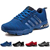 MEAYOU Men's Running Shoes Lightweight Breathable Air Cushion Sneakers Casual Athletic Walking Shoes