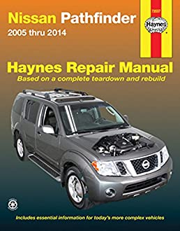 nissan pathfinder 2005 thru 2014 haynes repair manual editors of rh amazon com 2006 Nissan Pathfinder Manual Transmission 2001 Nissan Pathfinder Manual PDF