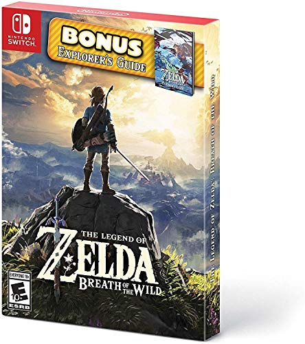 The Legend of Zelda: Breath of the Wild: Starter Pack - Nintendo Switch (Best Weapons In Breath Of The Wild)
