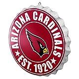 NFL Arizona Cardinals Unisex 2016 Bottle Cap Wall Sign, One Size