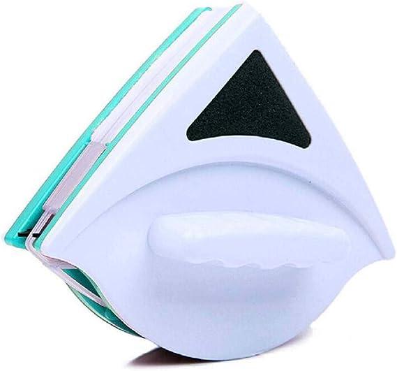 Home Limpiador magnético de doble cara para ventanas de cristal, herramienta de limpieza de superficie, raspador de cristal seguro para ventanas de alto alzado y vidriadas 12 mm verde: Amazon.es: Hogar