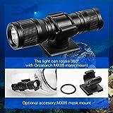 ORCATORCH D560 Mini Scuba Dive Light Headlamp